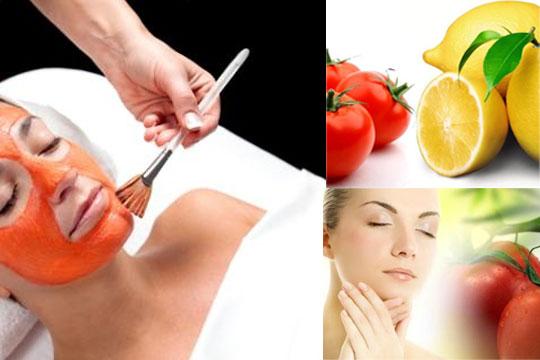 Un masque de tomate est beaucoup plus utile pour les peaux grasses